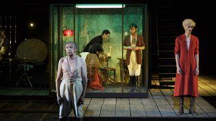 """Karamazov"", mise en scène de Jean Bellorini  (Christophe Raynaud de Lage/Festival d'Avignon)"