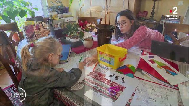 Confinement : les élèves de la zone C reprennent l'école à la maison
