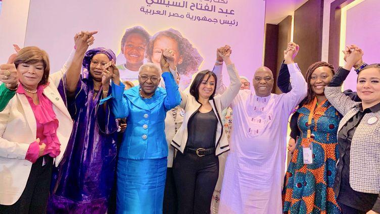 Le Dr Morissanda Kouyaté lors de sa participation à une conférence sur l'excision en Egypte en juin 2019. (Compte Facebook)