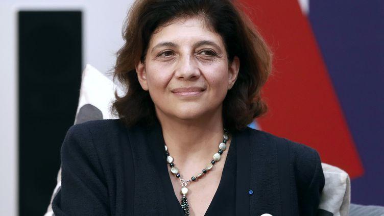L'avocate Christiane Féral-Schuhl, présidente du Conseil national des barreaux, le 19 septembre 2016 à Paris. (JACQUES DEMARTHON / AFP)