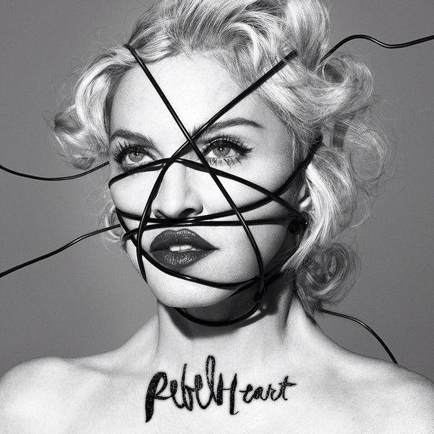 """La pochette de l'album """"Rebel Heart"""" de Madonna, annoncé pour mars 2015.  (Interscope)"""