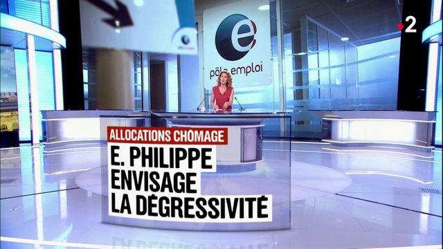 Allocations chômage : Édouard Philippe envisage la dégressivité