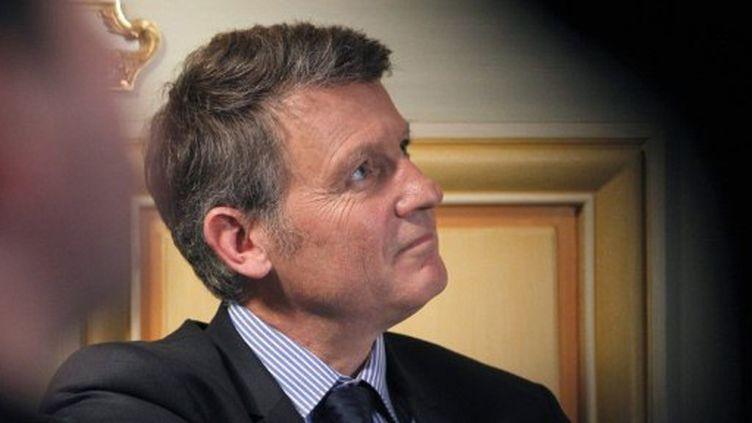 l'eurodéputé Vincent Peillon, le 9 novembre 2011 à Paris (AFP PHOTO PATRICK KOVARIK)