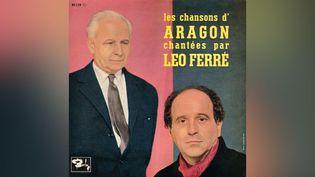 Les Chansons d'Aragon chantées par Léo Ferré. (DR)
