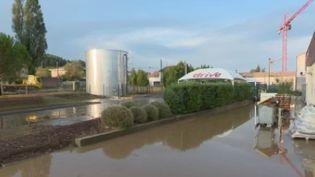 Un violent épisode orageux a provoqué des inondations dans la commune de Pignans, dans le Var, mardi 24 août.Les dégâts matériels sont importants. (FRANCE 2)