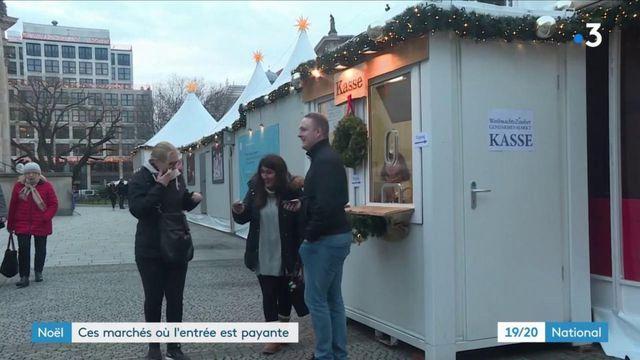 Noël : certains marchés font payer l'entrée aux visiteurs