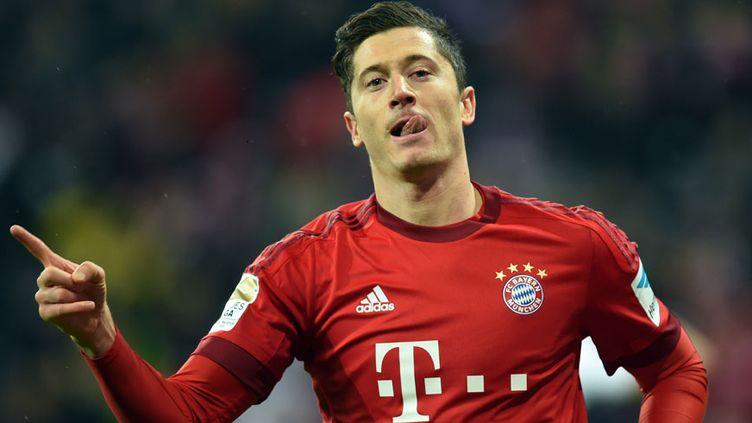 Le buteur du Bayern Munich Robert Lewandowski