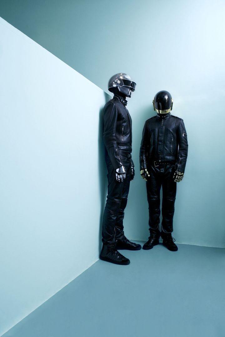 Daft Punk à Paris en 2007. (CLAUDE GASSIAN)