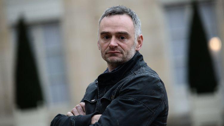 Laurent Pinatel, porte-parole de la Confédération paysanne. (STEPHANE DE SAKUTIN / AFP)