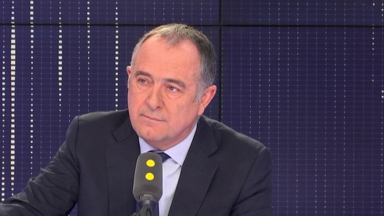 Le ministre de l'Agriculture, Didier Guillaume, invité de franceinfo, lundi 10 décembre 2018. (FRANCEINFO / RADIOFRANCE)