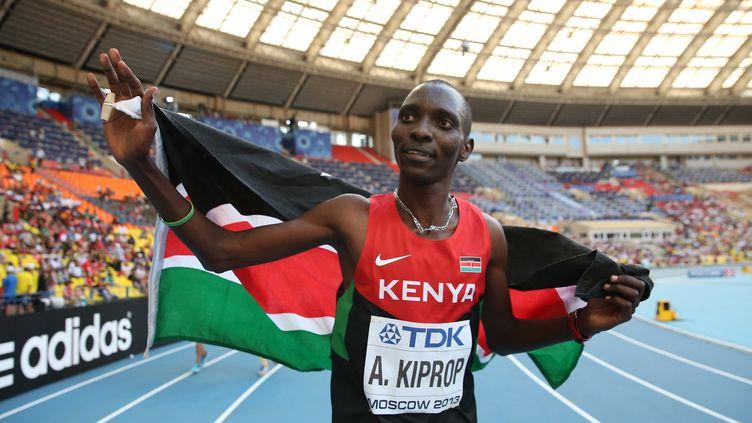 L'athlète kényan Asbel Kiprop (FRANCK FIFE / AFP)
