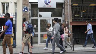 Une agence de Pôle emploi à Paris, le 24 juin 2019. (SERGE ATTAL / ONLY FRANCE / AFP)