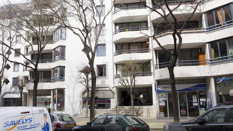 Un immeuble HLM dans le 15e arrondissement de Paris, mars 2010 (SIPA)