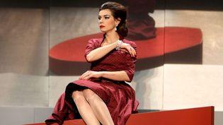"""Sophie Carrier interprète la diva dans """"La véritable histoire de Maria Callas""""   (© TIBOUL/MAXPPP)"""