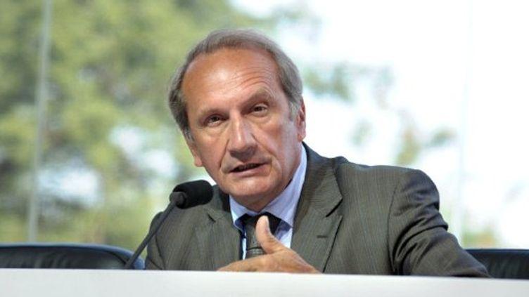 Le ministre de la Défense, Gérard Longuet, se présente aux sénatoriales dans la Meuse (AFP - ERIC PIERMONT)