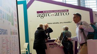 L'organisme de retraite complémentaire Agirc-Arcco,les retraites complémentaires du secteur privé. (MAXPPP)