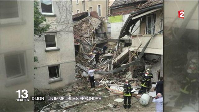 """Explosion à Dijon : """"Je suis complètement traumatisée"""""""