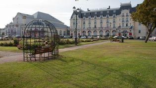 Le Grand Hôtel de Cabourg. (GILLES TARGAT / GILLES TARGAT)