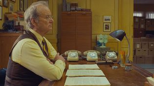 """Bill Murray dans """"The French Dispatch"""" de Wes Anderson (2021). (THE WALT DISNEY COMPANY FRANCE)"""