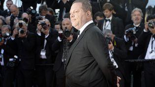 Le producteur Harvey Weinstein, le 24 mai 2013 à Cannes (Alpes-Maritimes). (ANNE-CHRISTINE POUJOULAT / AFP)