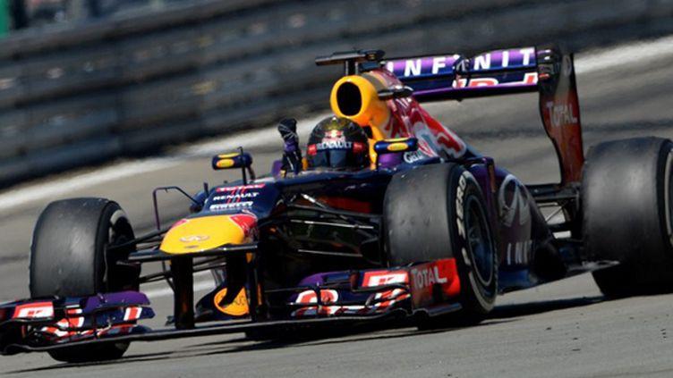 Sebastian Vettel (PATRIK STOLLARZ / AFP)