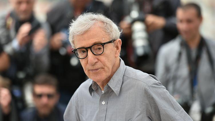 Le réalisateur américain Woody Allen au Festival de Cannes en 2016. (ALBERTO PIZZOLI / AFP)