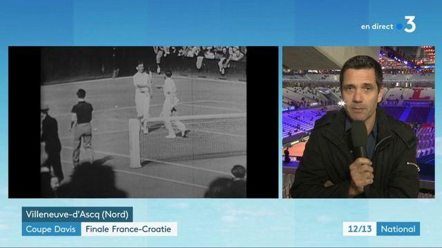Coupe Davis : premier match de la finale contre la Croatie