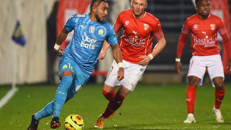 Dimitri Payet contre Nîmes (SYLVAIN THOMAS / AFP)