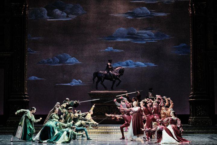 """""""Roméo et Juliette"""" à l'Opéra Bastille (AGATHE POUPENEY / DIVERGENCE)"""