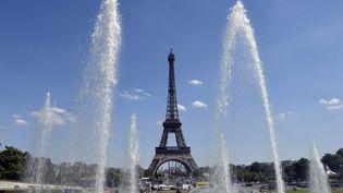 la Tour Eiffel à Paris, le 3 juillet 2014. (MIGUEL MEDINA / AFP)