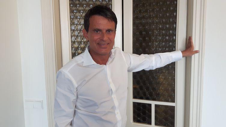Manuel Valls (SEBASTIEN BAER / FRANCE INFO / RADIO FRANCE)