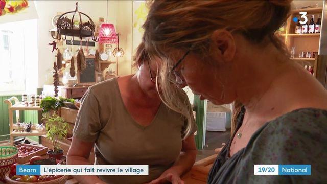 Béarn : l'épicerie qui fait revivre le village