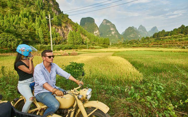 """Thomas chabrières en Chine: """"Avant la crise, on chatouillait les 4 000 passagers dans l'année. On en est à des années-lumières"""" (MATHIAS GUILLIN)"""