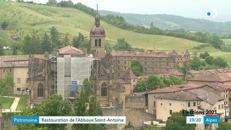 Restauration de l'Abbaye de Saint-Antoine en Isère (France 3 Alpes)