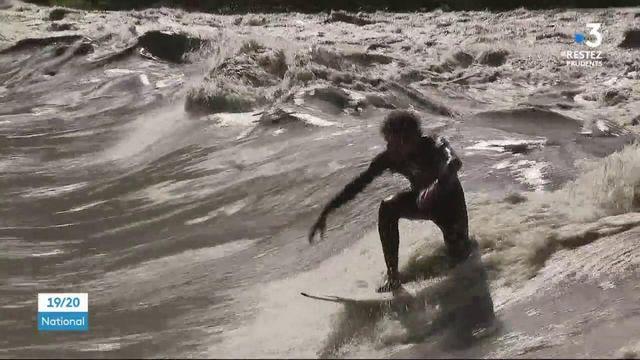 Isère : du surf... à des centaines de kilomètres des côtes