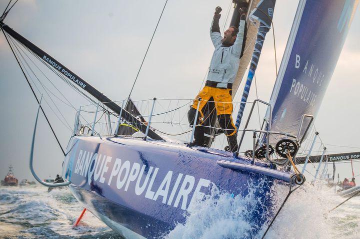 Armel Le Cléac'h remporte le Vendée Globe en 2017