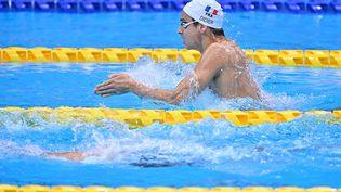 Ugo Didier a disputé sa dernière course des Jeux paralympiques de Tokyo en finale du 200 m 4 nages. (L.PERCIVAL - CPSF)