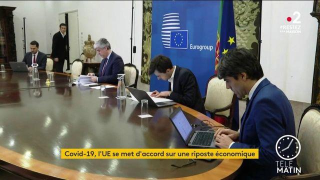 Coronavirus: l'UE se met d'accord sur une riposte économique