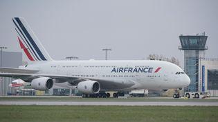 Quatre autres jours de grève sont prévus chez Air franceles 17, 18, 23 et 24 avril. (SEBASTIAN KAHNERT / DPA / AFP)