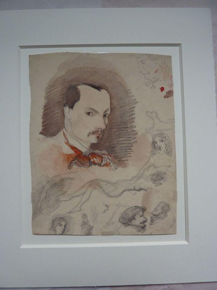Autoportrait de Charles Baudelaire  (Fonds Geoffroy-Dechaume, MMF/CAPA)