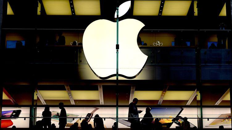 Un magasin Apple à Sydney en Australie, le 19 juin 2018. (PAUL MILLER / AAP)