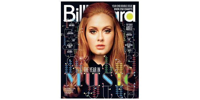 Adele aura régné sur les charts mondiaux en 2011.  (Billboard)