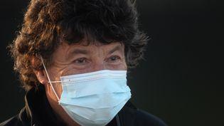 Jean Le Cam, avant le départ du Vendée Globe, le 8 novembre 2020 aux Sables-d'Olonne (Vendée). (JEAN-FRANCOIS MONIER / AFP)
