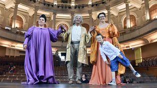 """""""Tous à l'Opéra !"""" au Théâtre Impérial de Compiègne.  (RICHARD DUGOVIC)"""