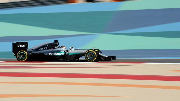 Lewis Hamilton (Mercedes) (MOHAMMED AL-SHAIKH / AFP)