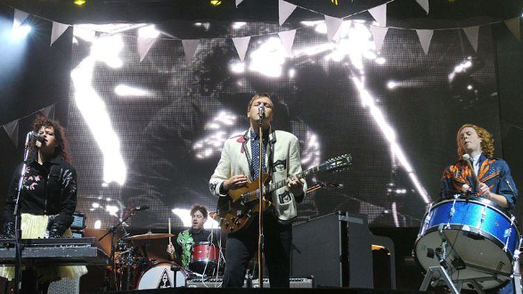 Arcade Fire sur scène en Irlande en 2011.  (SI1/WENN.COM/SIPA)