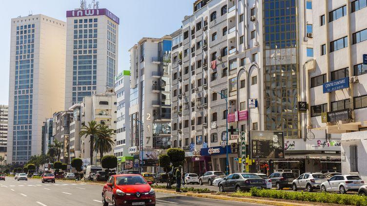 Rue de Casablanca, le 13 avril 2019. (JACQUES PIERRE / HEMIS.FR / HEMIS.FR)