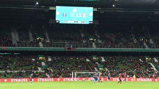 Carton plein pour le Bayern, qui remporte le premier tour de Coupe d'Allemagne face au Bremer SV, 12-0. (CARMEN JASPERSEN / AFP)