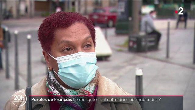 Paroles de Français : le masque, stop ou encore ?