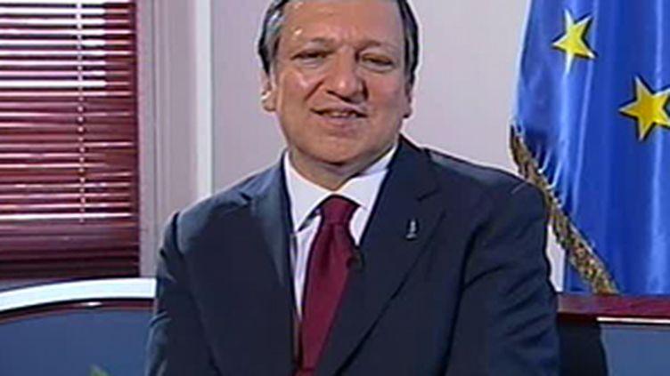 Le président de la Commission européenne, José Manuel Barroso. (F3)